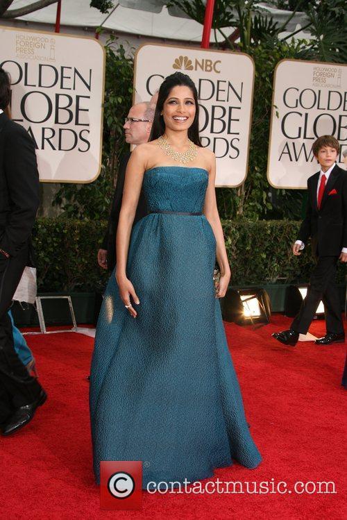 Freida Pinto, Golden Globe Awards and Beverly Hilton Hotel 2