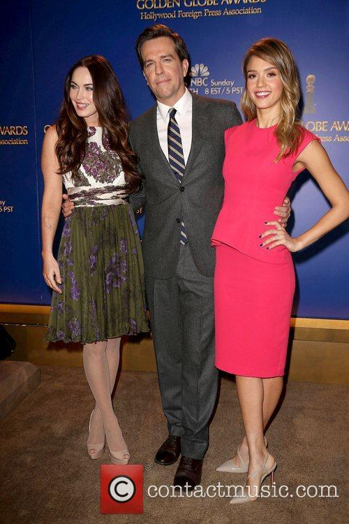 Megan Fox, Ed Helms and Jessica Alba 9