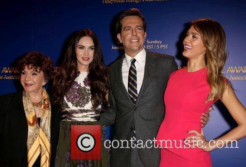 Aida Takla-o'reilly, Megan Fox, Ed Helms and Jessica Alba 2