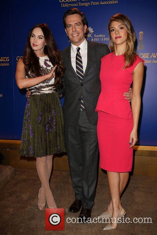 Megan Fox, Ed Helms and Jessica Alba 5