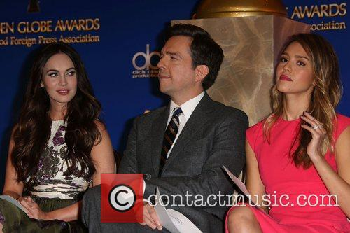Megan Fox, Ed Helms and Jessica Alba 8