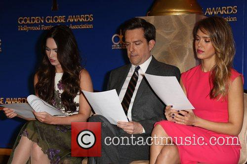 Megan Fox, Ed Helms and Jessica Alba 6