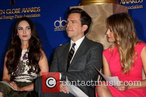 Megan Fox, Ed Helms and Jessica Alba 7