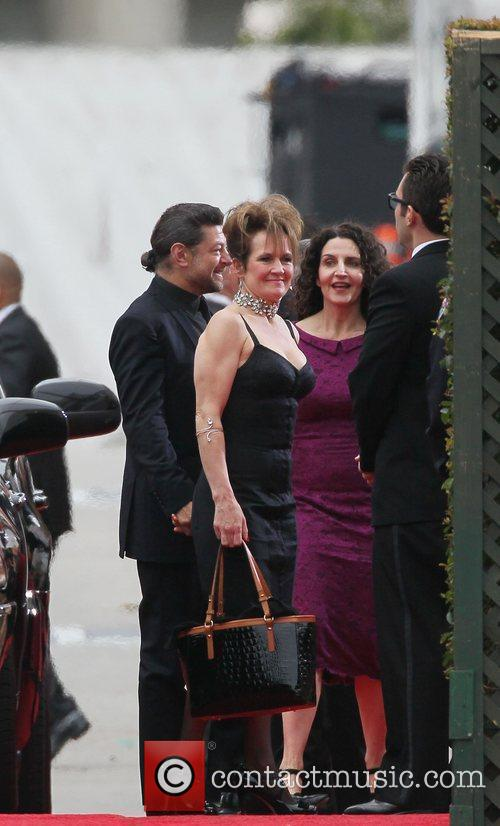 Andy Serkis, Lorraine Ashbourne, Golden Globe Awards and Beverly Hilton Hotel 2