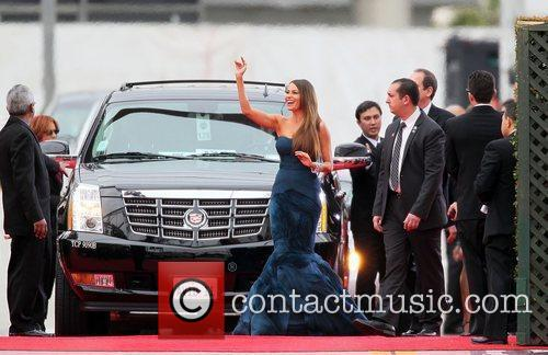 Sofia Vergara, Golden Globe Awards and Beverly Hilton Hotel 5