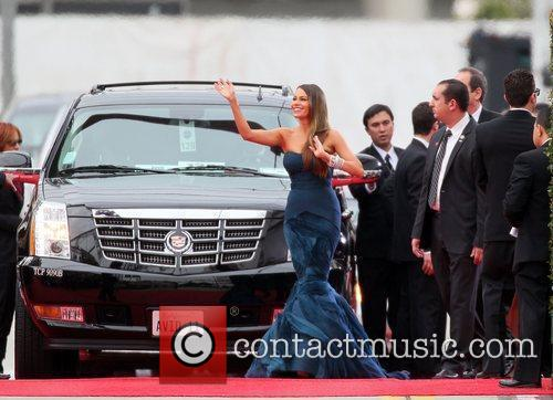 Sofia Vergara, Golden Globe Awards and Beverly Hilton Hotel 1