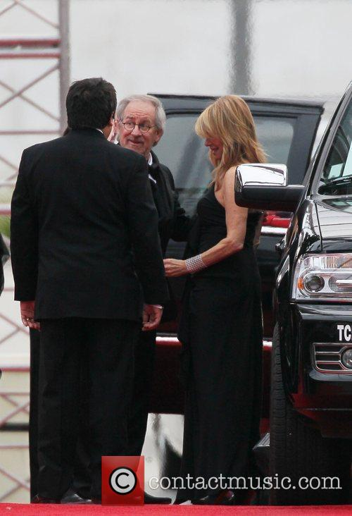 Steven Spielberg, Kate Capshaw, Golden Globe Awards and Beverly Hilton Hotel 1