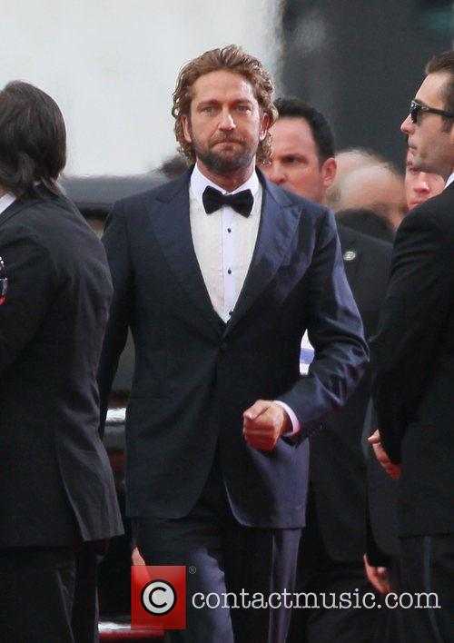 Gerard Butler and Beverly Hilton Hotel 9