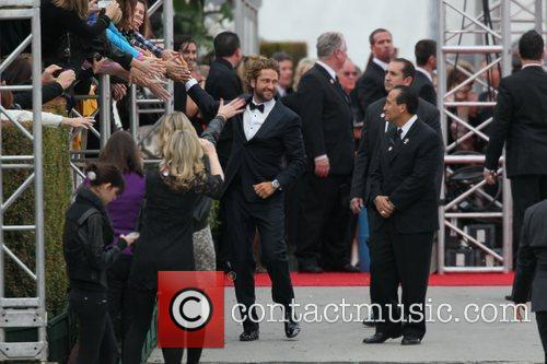 Gerard Butler and Beverly Hilton Hotel 10