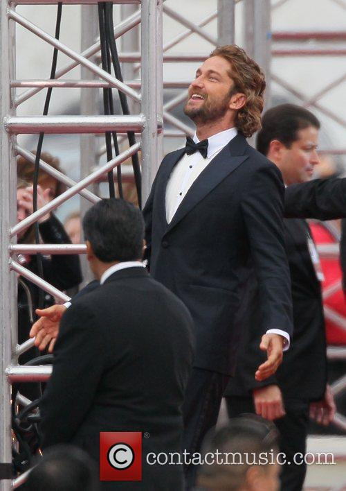 Gerard Butler and Beverly Hilton Hotel 11