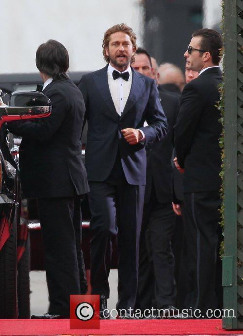 Gerard Butler and Beverly Hilton Hotel 12