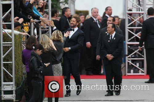 Gerard Butler and Beverly Hilton Hotel 15