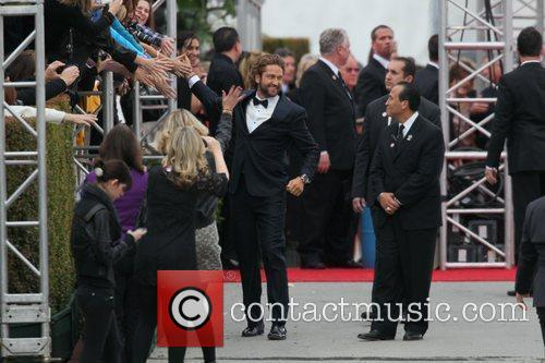 Gerard Butler and Beverly Hilton Hotel 17