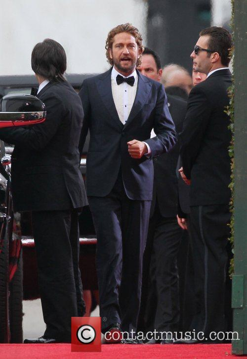 Gerard Butler and Beverly Hilton Hotel 18