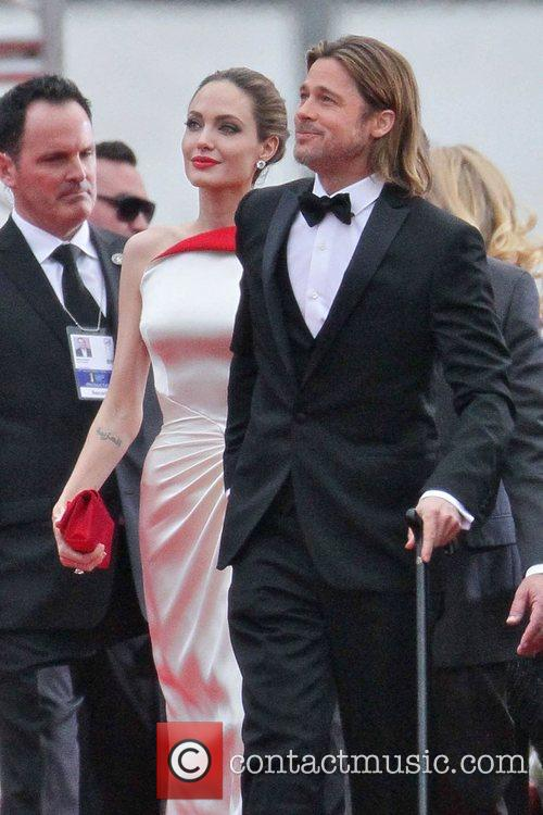 Angelina Jolie, Brad Pitt, Golden Globe Awards and Beverly Hilton Hotel 2