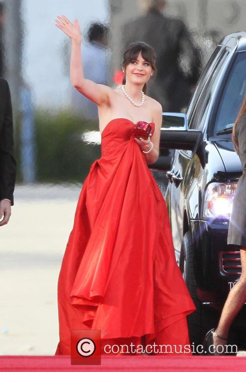 Zooey Deschanel and Beverly Hilton Hotel 11