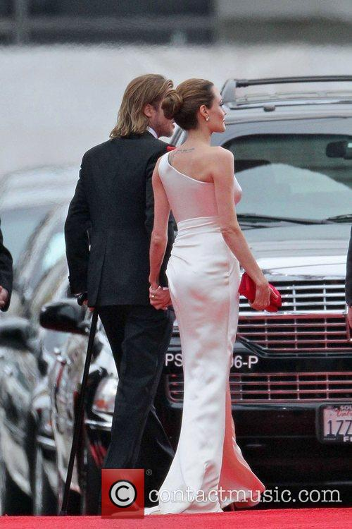 Angelina Jolie, Brad Pitt, Golden Globe Awards and Beverly Hilton Hotel 18