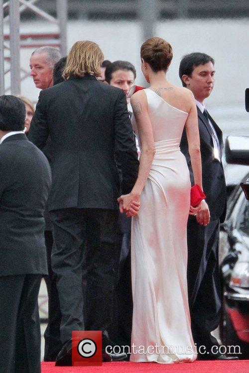 Angelina Jolie, Brad Pitt, Golden Globe Awards and Beverly Hilton Hotel 19