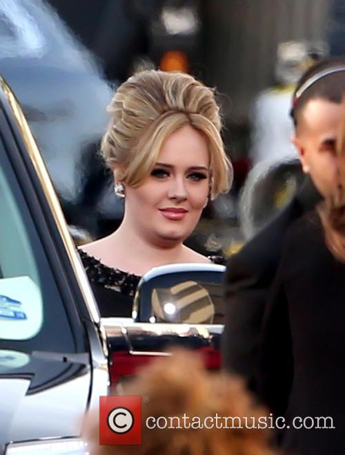 Adele and Beverly Hilton Hotel 6