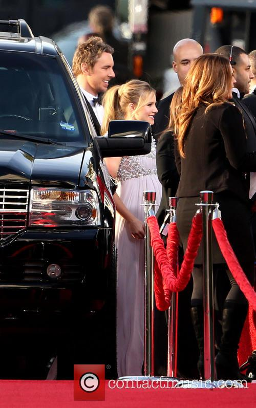 Kristen Bell and Beverly Hilton Hotel 2