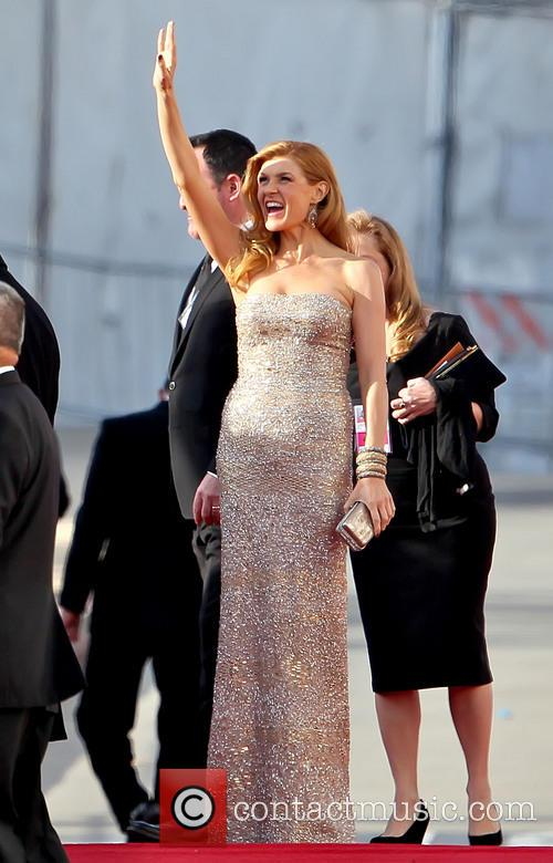 Connie Britton and Beverly Hilton Hotel 6