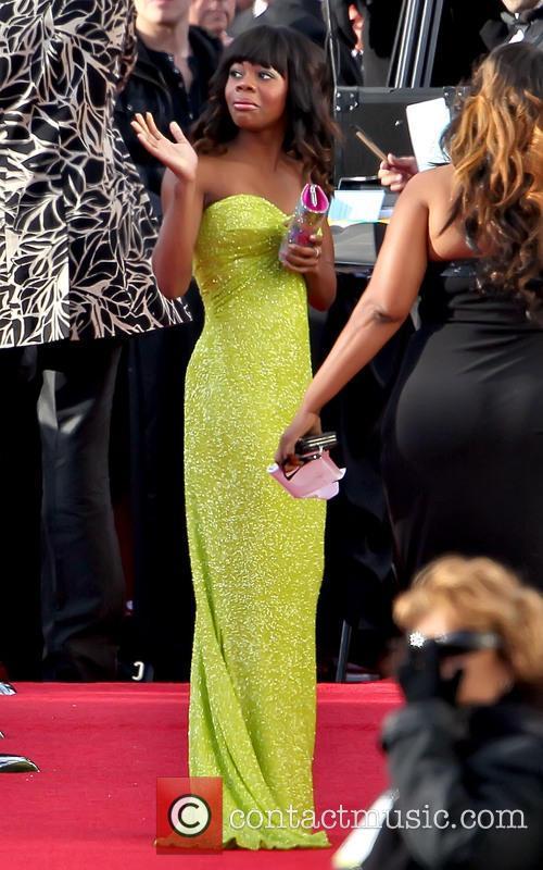 Gabby Douglas 70th Annual Golden Globe Awards held...