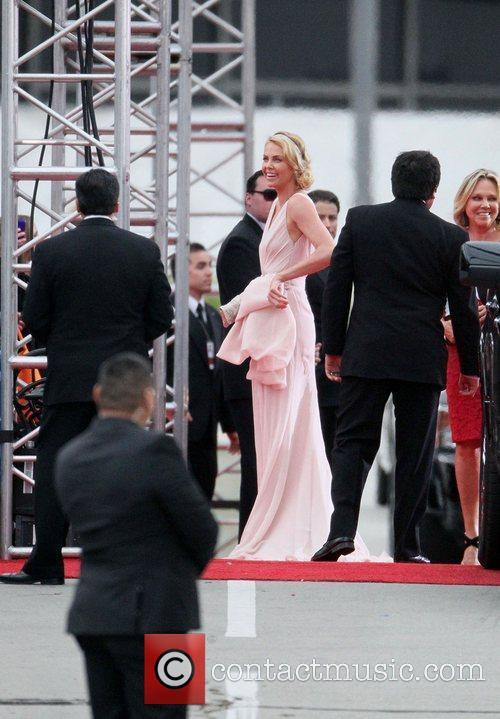 Charlize Theron, Golden Globe Awards and Beverly Hilton Hotel 2