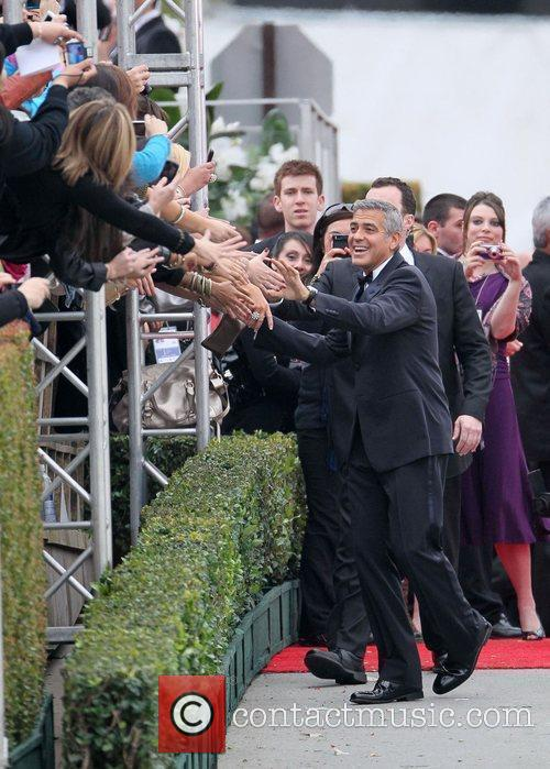 George Clooney, Golden Globe Awards and Beverly Hilton Hotel 5