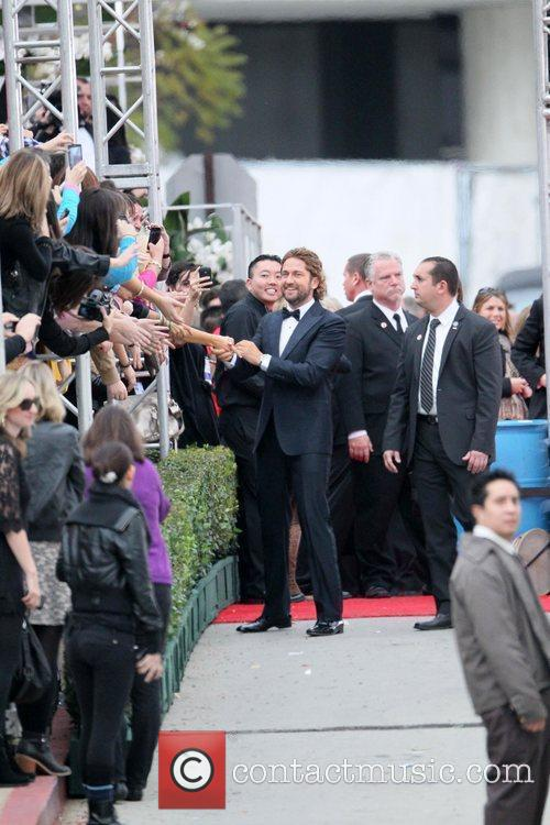 Gerard Butler, Golden Globe Awards and Beverly Hilton Hotel 3