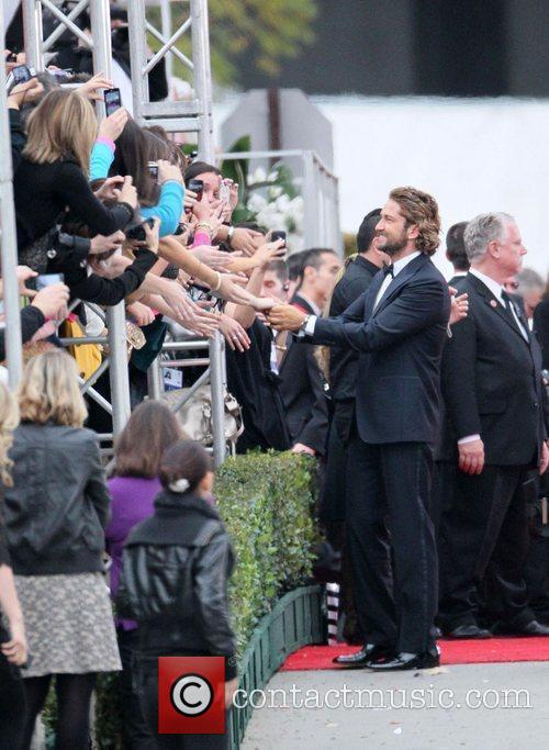 Gerard Butler, Golden Globe Awards and Beverly Hilton Hotel 6