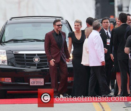 Ricky Gervais, Golden Globe Awards and Beverly Hilton Hotel 7