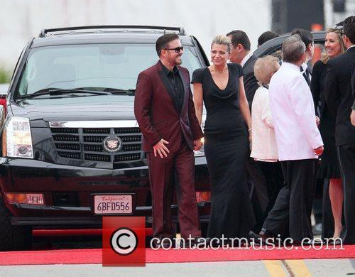 Ricky Gervais, Golden Globe Awards and Beverly Hilton Hotel 8