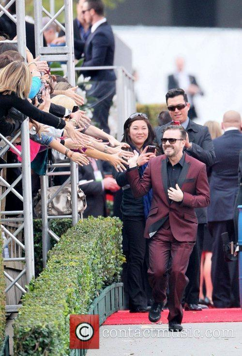 Ricky Gervais, Golden Globe Awards and Beverly Hilton Hotel 10