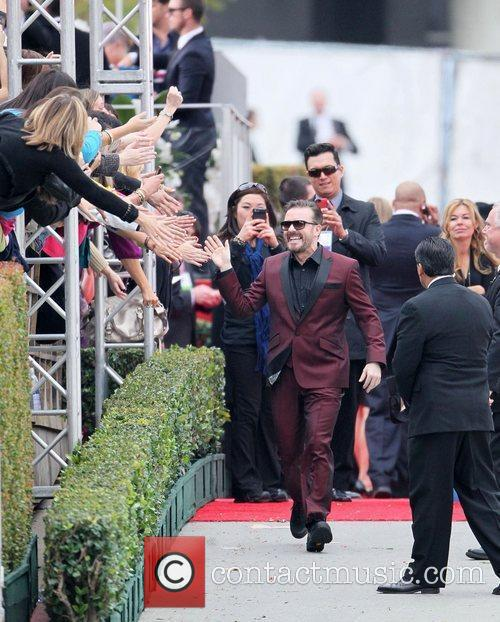 Ricky Gervais, Golden Globe Awards and Beverly Hilton Hotel 5