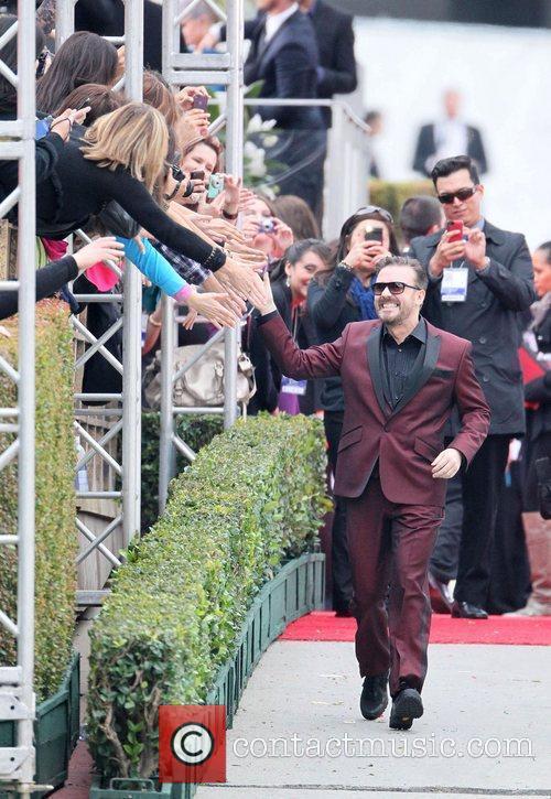 Ricky Gervais, Golden Globe Awards, Beverly Hilton Hotel