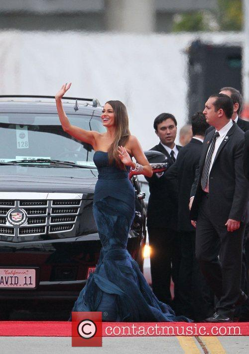Sofia Vergara, Golden Globe Awards and Beverly Hilton Hotel 2