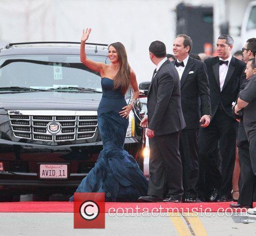 Sofia Vergara, Golden Globe Awards and Beverly Hilton Hotel 3