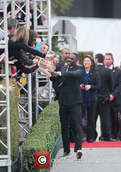 Idris Elba, Golden Globe Awards and Beverly Hilton Hotel 3
