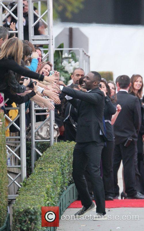 Idris Elba, Golden Globe Awards, Beverly Hilton Hotel