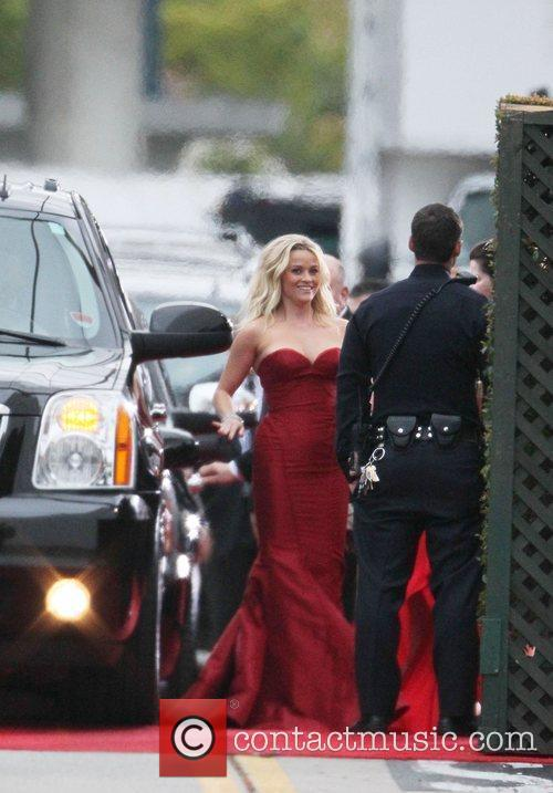 Reese Witherspoon, Golden Globe Awards and Beverly Hilton Hotel 2