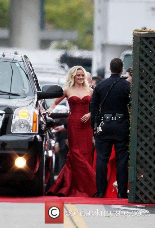 Reese Witherspoon, Golden Globe Awards and Beverly Hilton Hotel 3