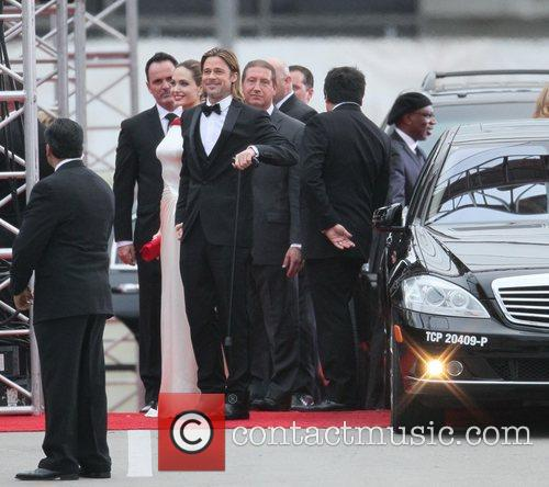 Angelina Jolie, Brad Pitt, Golden Globe Awards and Beverly Hilton Hotel 20