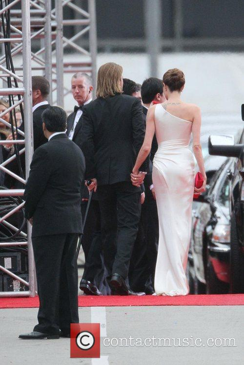 Angelina Jolie, Brad Pitt, Golden Globe Awards and Beverly Hilton Hotel 21