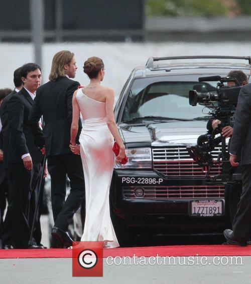 Angelina Jolie, Brad Pitt, Golden Globe Awards and Beverly Hilton Hotel 24