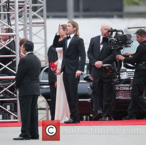 Angelina Jolie, Brad Pitt, Golden Globe Awards and Beverly Hilton Hotel 25