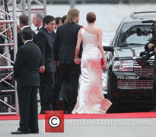 Angelina Jolie, Brad Pitt, Golden Globe Awards and Beverly Hilton Hotel 26