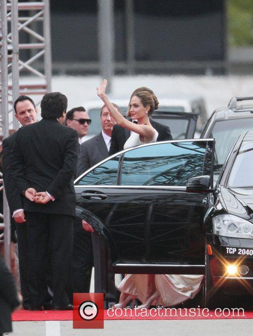 Angelina Jolie, Brad Pitt, Golden Globe Awards and Beverly Hilton Hotel 28