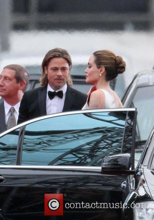 Angelina Jolie, Brad Pitt, Golden Globe Awards and Beverly Hilton Hotel 30