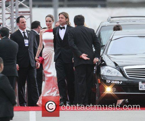 Angelina Jolie, Brad Pitt, Golden Globe Awards and Beverly Hilton Hotel 34