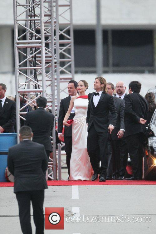 Angelina Jolie, Brad Pitt, Golden Globe Awards and Beverly Hilton Hotel 36